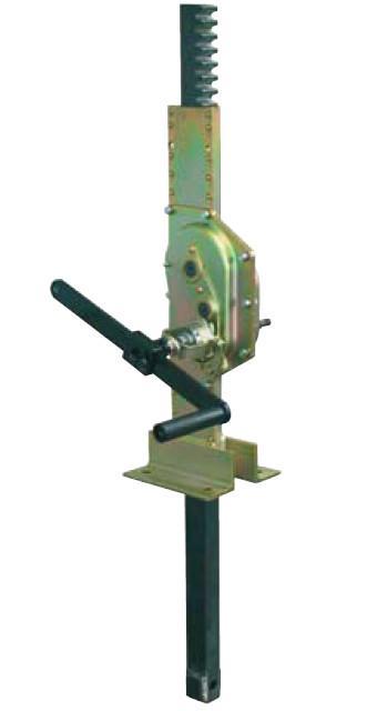 Cric de vanne guillotine ou pivotant jumelé 1281 - Cric de vanne guillotine ou pivotant jumelé, 1,5 à 10 t, entraînement manuel
