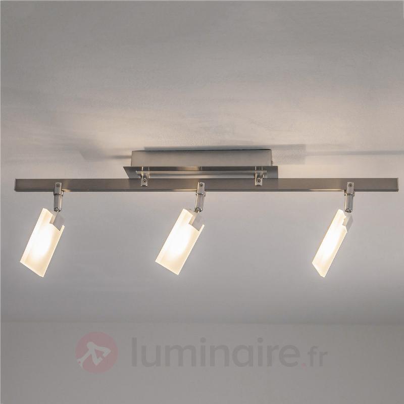 Plafonnier LED ultra moderne Livius - Plafonniers LED