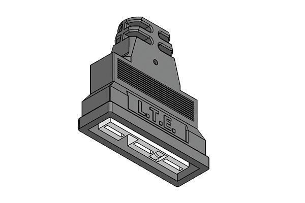Connettore lineare per attuatori – valvole 3 vie Bitron-Elb -