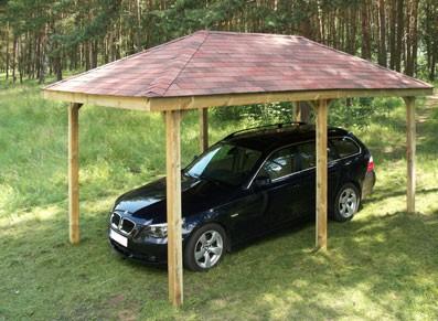 abri voiture en bois pavillon france abris france. Black Bedroom Furniture Sets. Home Design Ideas