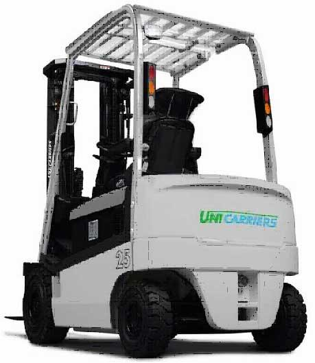CHARIOT FRONTAL ELECTRIQUE 4 ROUES - UNICARRIERS Type QX2-20