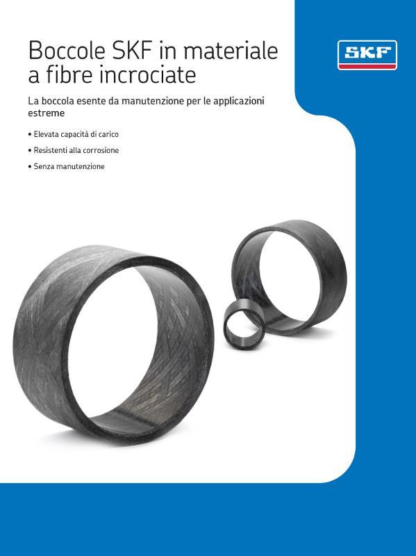 Brochure informative - Cuscinetti, supporti, snodi e boccole