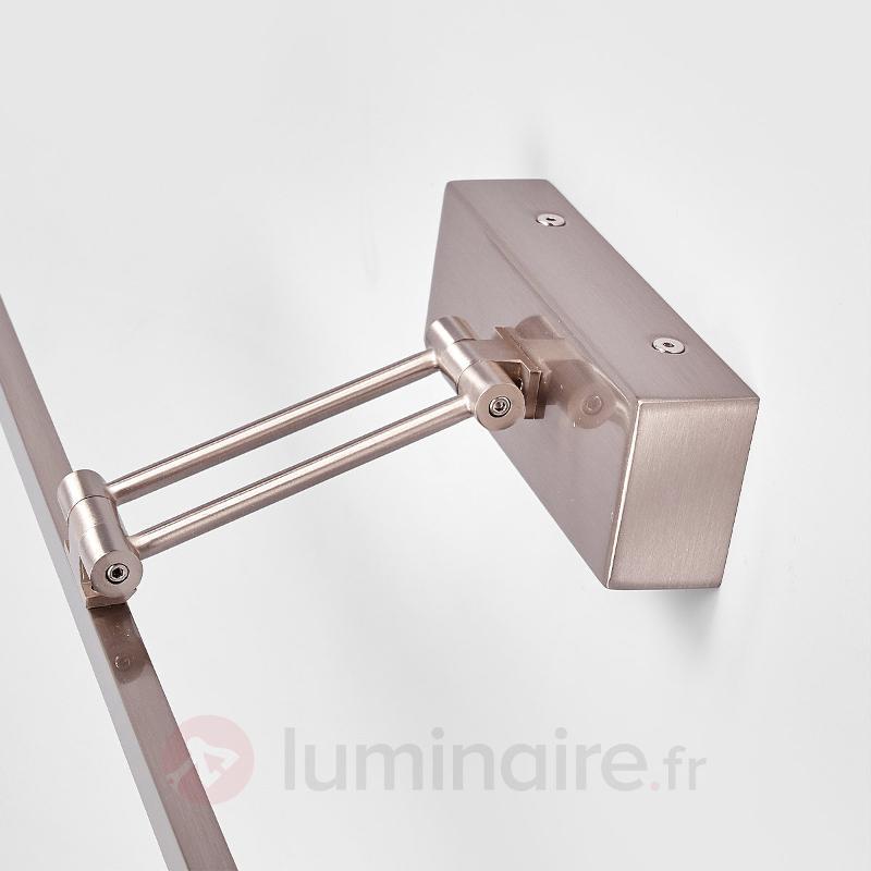 Emilias - applique tableau LED couleur nickel - Appliques LED