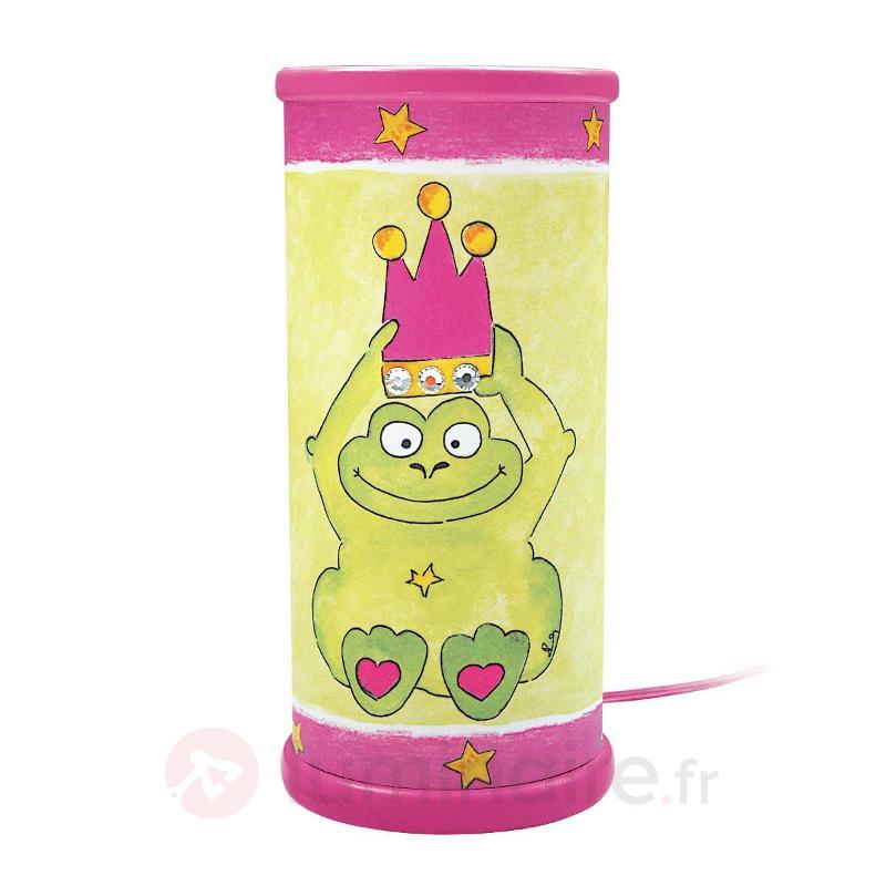 Lampe à poser ROI GRENOUILLE - Chambre d'enfant