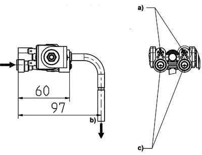 Dispense valve - 06.003.234