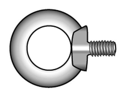 Ringschrauben, geschmiedete Form - Material A2 | A4