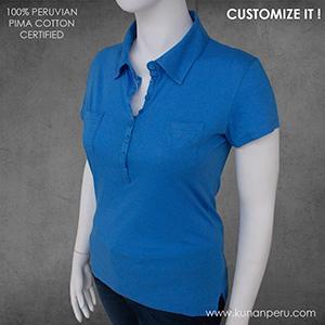 100% pima cotton polo shirt - camiseta tipo polo  100% algodon pima 150gr. OEM