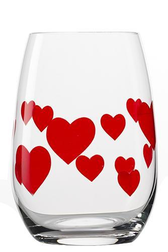 Drinking Glass Ranges - L'amour Tumbler, satin