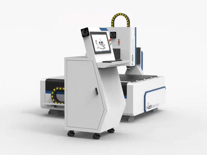 Servo motors Portal Milling Machine T-Rex Servo1212 Router - CNC Mill with CNC control included in control panel and vacuum table