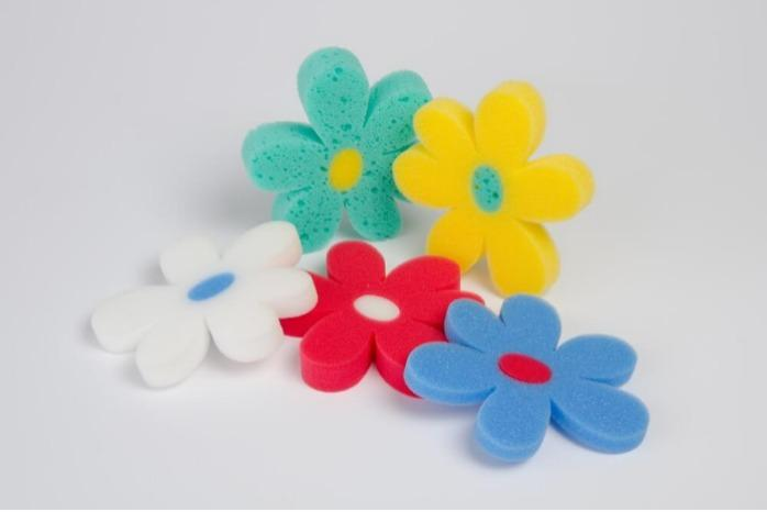 Motif sponges  - for seasonal promotions and special events