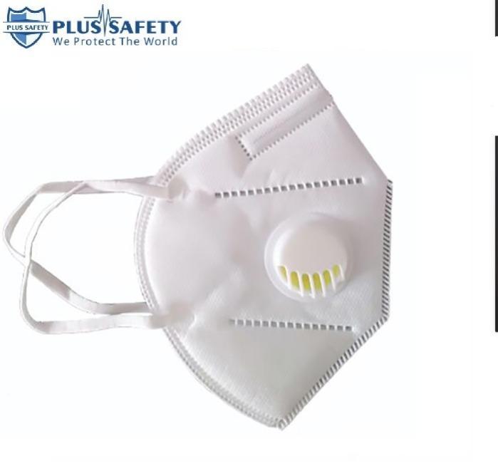 Maschera facciale FFP2 con valvola contro il virus covid-19 - Maschera facciale FFP2  N95  con valvola contro il virus covid-19