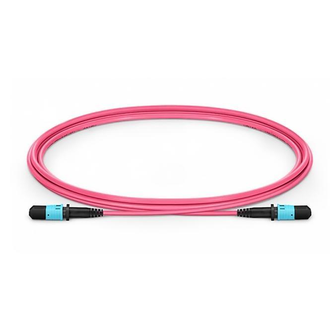 12 Fibers Type A Om4 Ofnp Multimode Trunk Cable - null