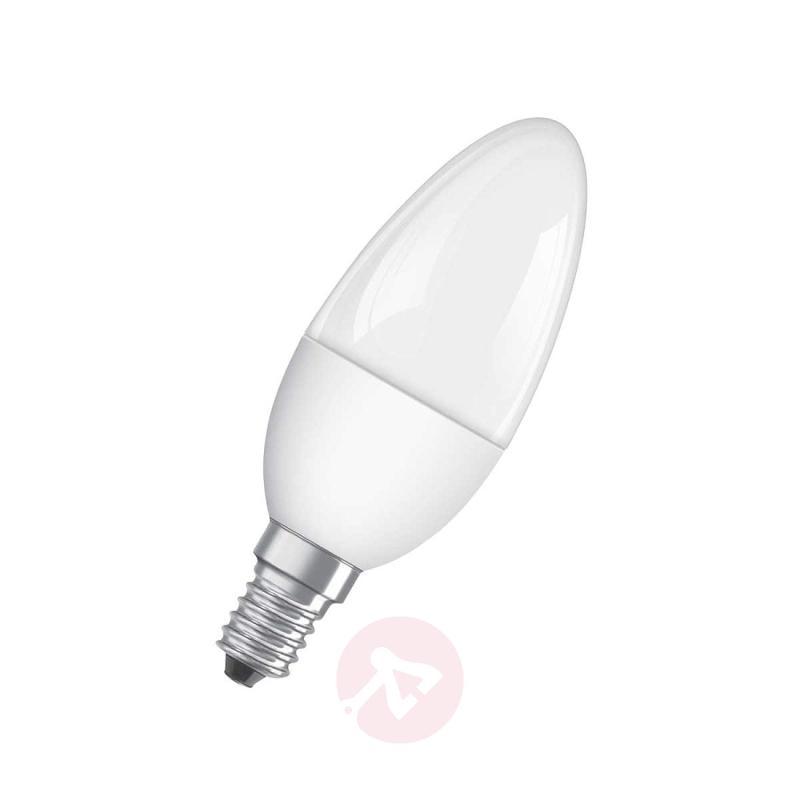 E14 3,3W 827 LED candle bulb matte - light-bulbs
