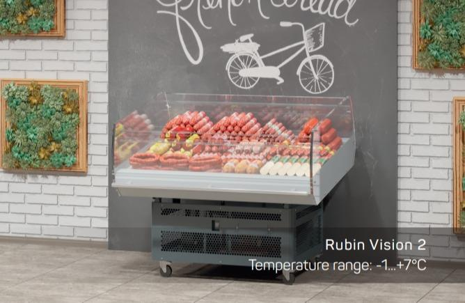 REFRIGERATED WALL CABINET - RUBIN front
