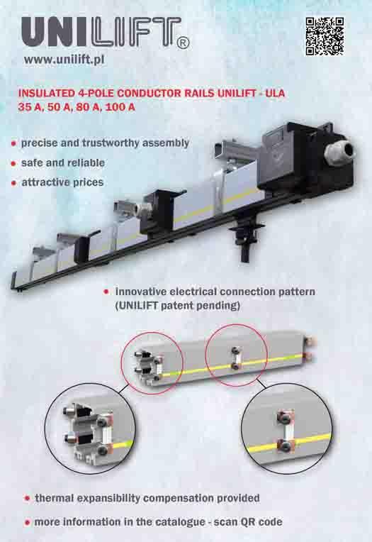 Conductor rails UNILIFT-ULA - busbars UNILIFT-ULA