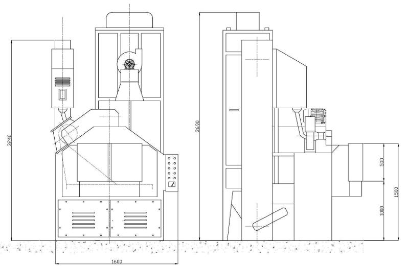 COSER CS RT11 - Sabbiatrici e granigliatrici