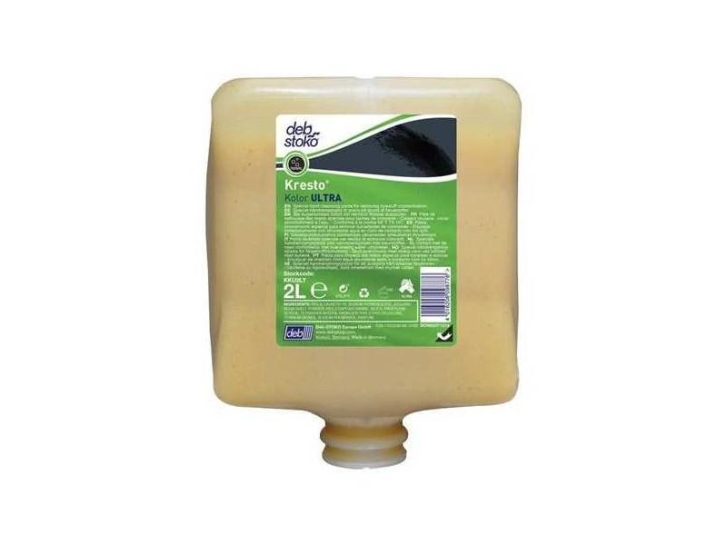 4 Recharges De Pâte Nettoyante 2l Deb Kresto Citrus - Savons et crèmes lavantes