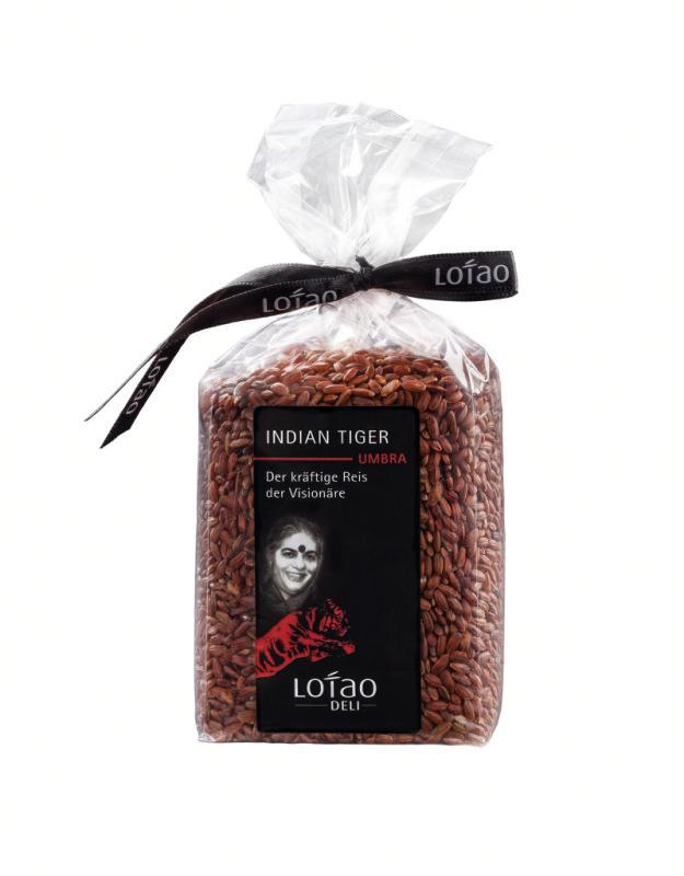 Roter Reis - Bio Reis Indian Tiger Umbra