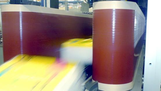 PTFE laminierte Bänder - Bänder beschichtet zusätzlich mit einer PTFE Folie