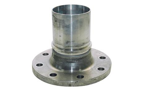 Flange couplings - Fixed flange, safety band