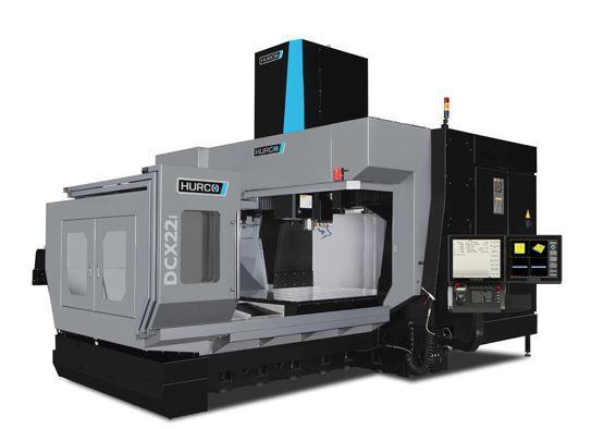 Portal-3-Achsen-Bearbeitungszentrum - DCX 22i SK40 - Erstklassige Komponenten und durchdachte Konstruktion