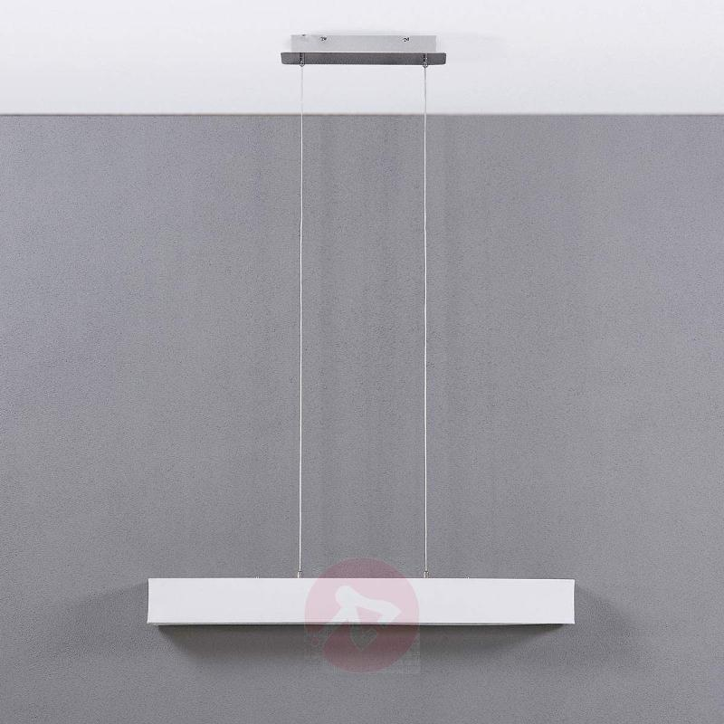 White LED hanging light Takia, 100 cm - Pendant Lighting