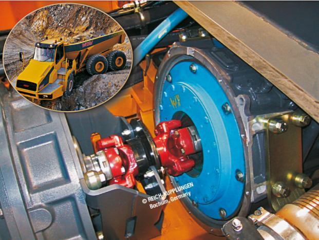 ARCUSAFLEX-VSK | AC-VSK - 带万向轴的高弹接头联轴器