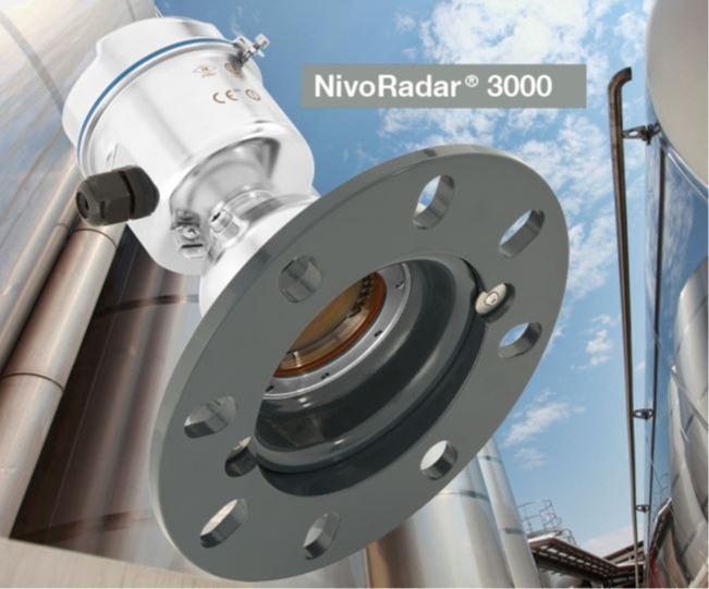 Sensores NivoRadar® NR3000 - Utilizados para la medición continua de nivel en silos