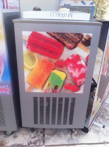 Machines à glace bâtonnet -
