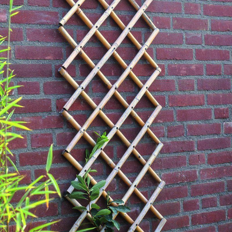 DECORER au JARDIN - Croisillons extensibles en bambou