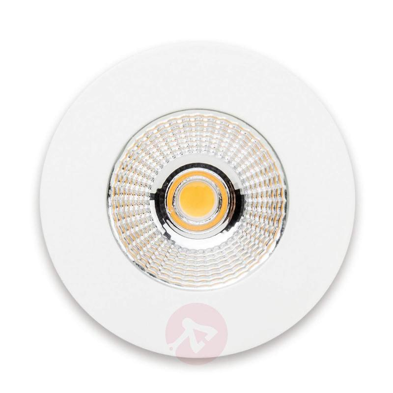 ELE round LED recessed light in white - Recessed Spotlights