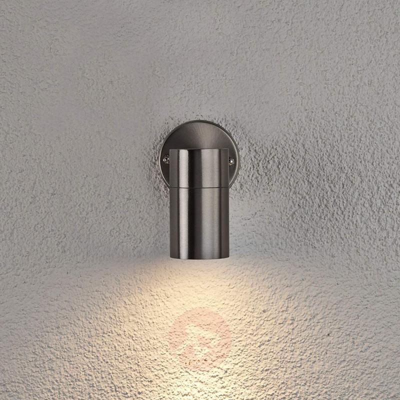 Hakan Stainless Steel Wall Lamp for Outside - stainless-steel-outdoor-wall-lights