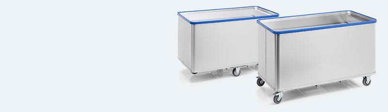 Spring-loaded base trolleys - D 5408