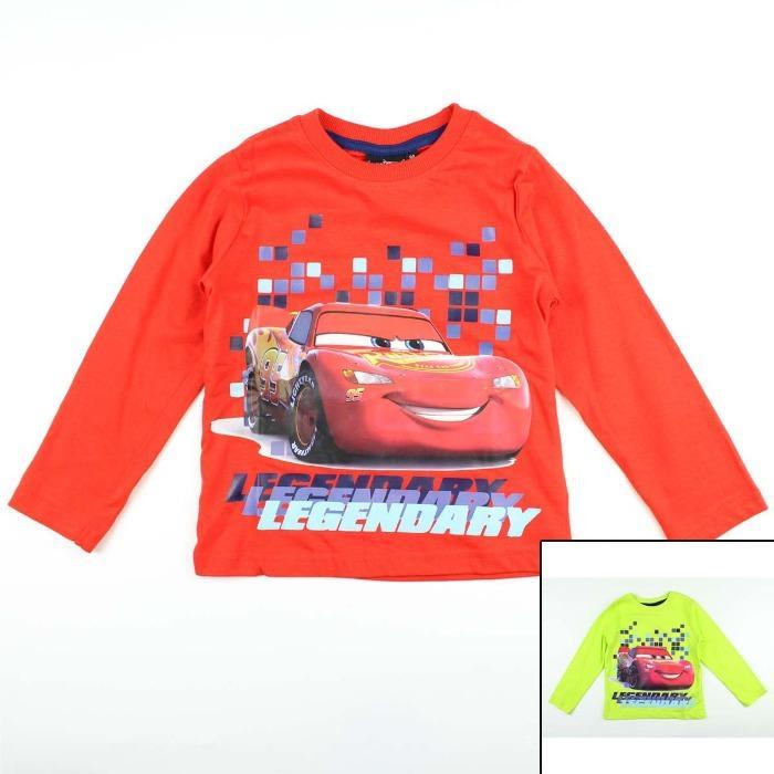 Importador Europa Camiseta Disney Cars Niño - Camiseta y Polo de manga larga