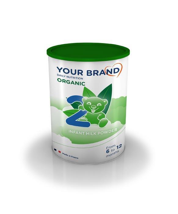 Powder infant milk formula - ORGANIC infant milk formulae - Stages 2/3