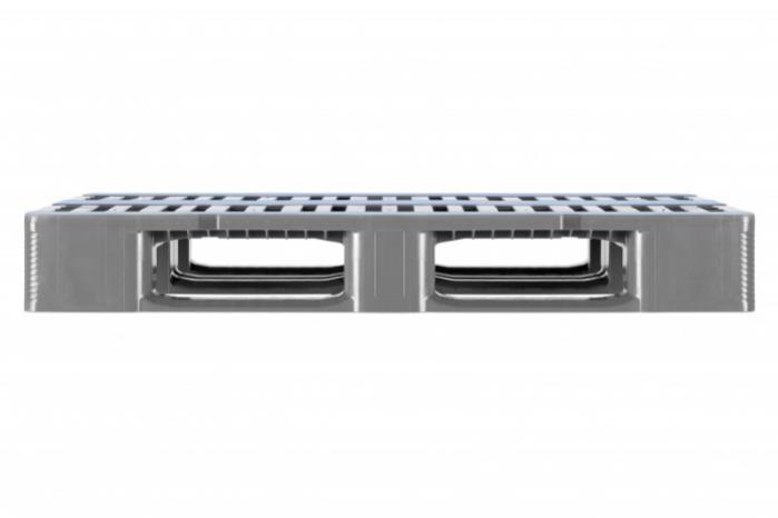CR1 - Palette en plastique, Palette pour charges lourdes, Palette à hauts rayonnages
