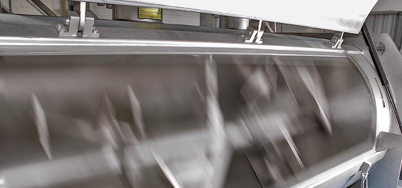 Mixing / coating - Bulk material processing