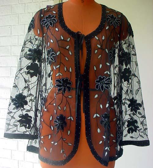 Haute Couture Embroidered Jackets - Manufacturer & Exporter - Evening Jackets | OEM Manufacturer & Embroiders India