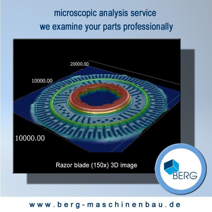 Microscopic analysis service - meaningful microscope analysis of your parts