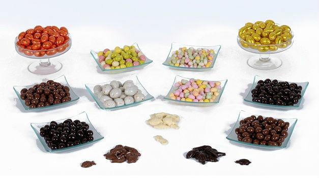 Garnitures oeufs de Paques - chocolats