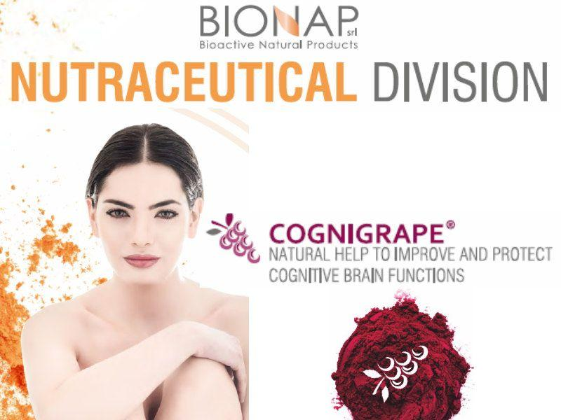 Cognigrape - Natural nutraceutical ingredients - Help to improve and protect cognitive brain functions