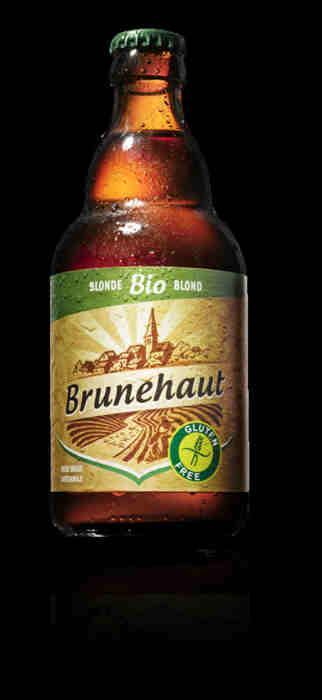 Bières biologiques - Brunehaut Blonde -