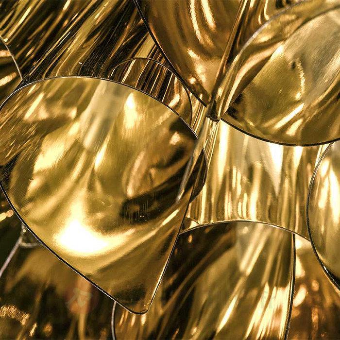 Brillance dorée - Plafonnier Veli Large 78 cm - Plafonniers laiton/dorés