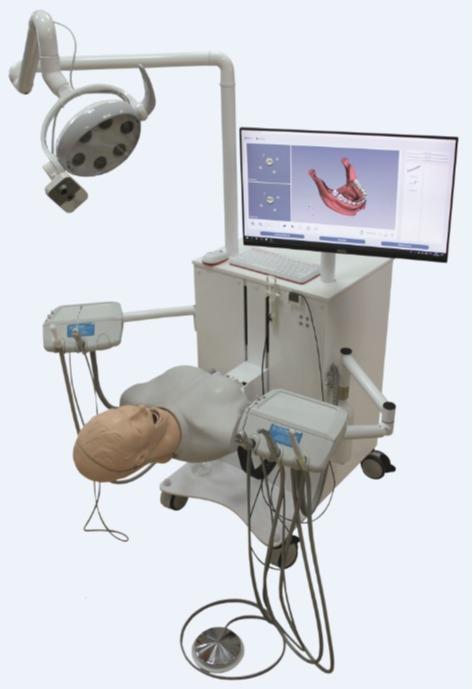 """جهاز محاكاة الهجين لطب الأسنان """"ليوناردو"""" -"""