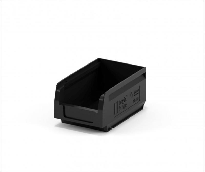 Storage Crate 165х100х75 in a black colour - Art.: 12.401