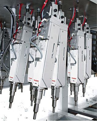 Unità di avanzamento integrata IPA3505 e modulo di potenza - Le unità funzionali compatte per una costruzione meccanica speciale all'avanguar