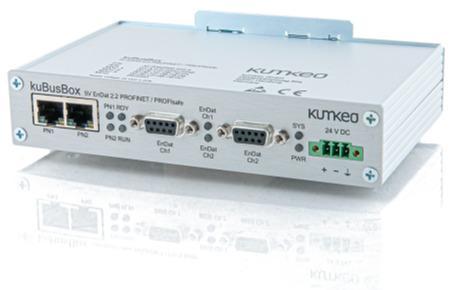 Protokollkonverter kuBusBox EnDat 2.2 > PROFINET / PROFIsafe - Plattform für die Kommunikation zwischen Sensoren und Aktoren