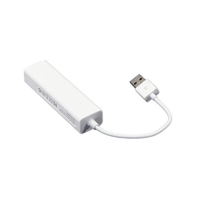 USB 2.0 AND ETHERNET HUB - 3 USB - Adafruit Industries LLC 2909