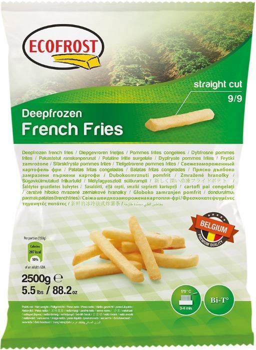 Batata Palitos Ecofrost -