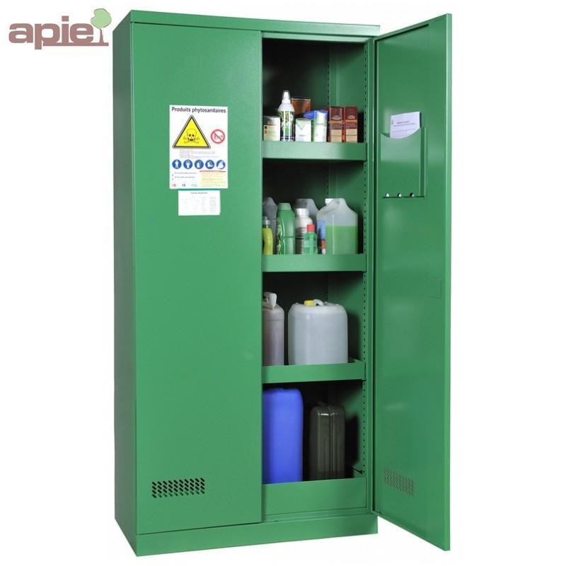 Armoire phytosanitaires, modèle haut à 2 portes - Armoires de sécurité & Accessoires